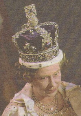 Kohinoow in Queen of England's Crown